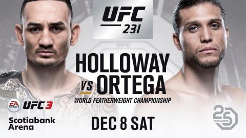 Max Holloway vs. Brian Ortega
